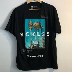 Young and Reckless Y&R Palm Tree T Shirt